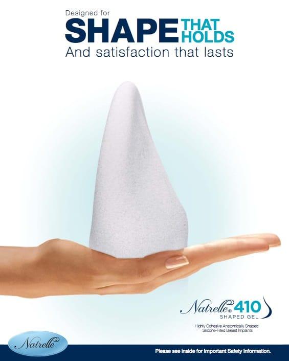410 cohesive gel breast implants